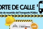 Cierre de calle San Martín entre Las Heras y Belgrano: cambio de recorridos
