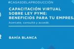 Capacitación virtual sobre Ley PyME