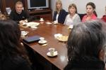 Tercer desayuno con personal municipal
