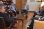El intendente recibió al nuevo Cónsul de Italia en Bahía Blanca