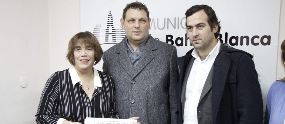 Fabiana Tuñez fue declarada visitante ilustre de la ciudad