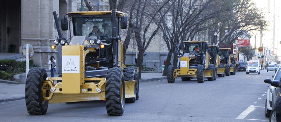El municipio incorporó maquinaria de última generación