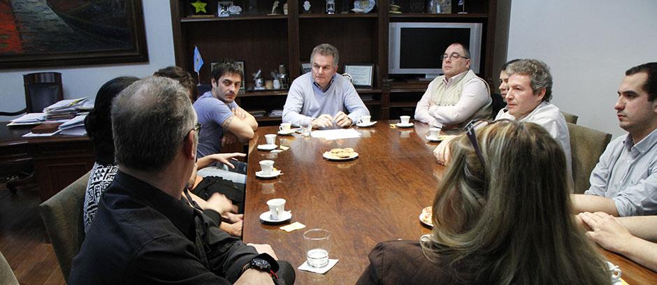 Desayuno con empleados del Instituto Cultural