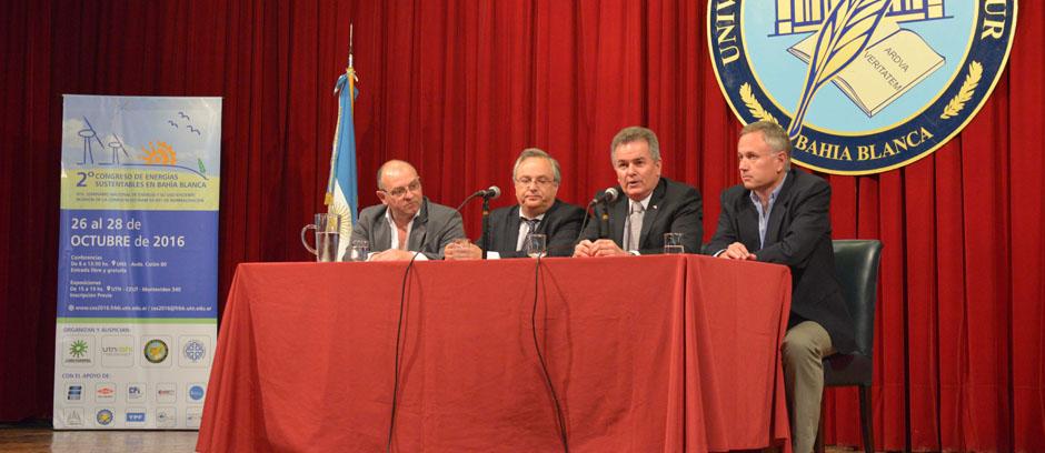 Congreso de Energías Sustentables: Gay destacó las inversiones que se proyectan en Bahía Blanca y la región