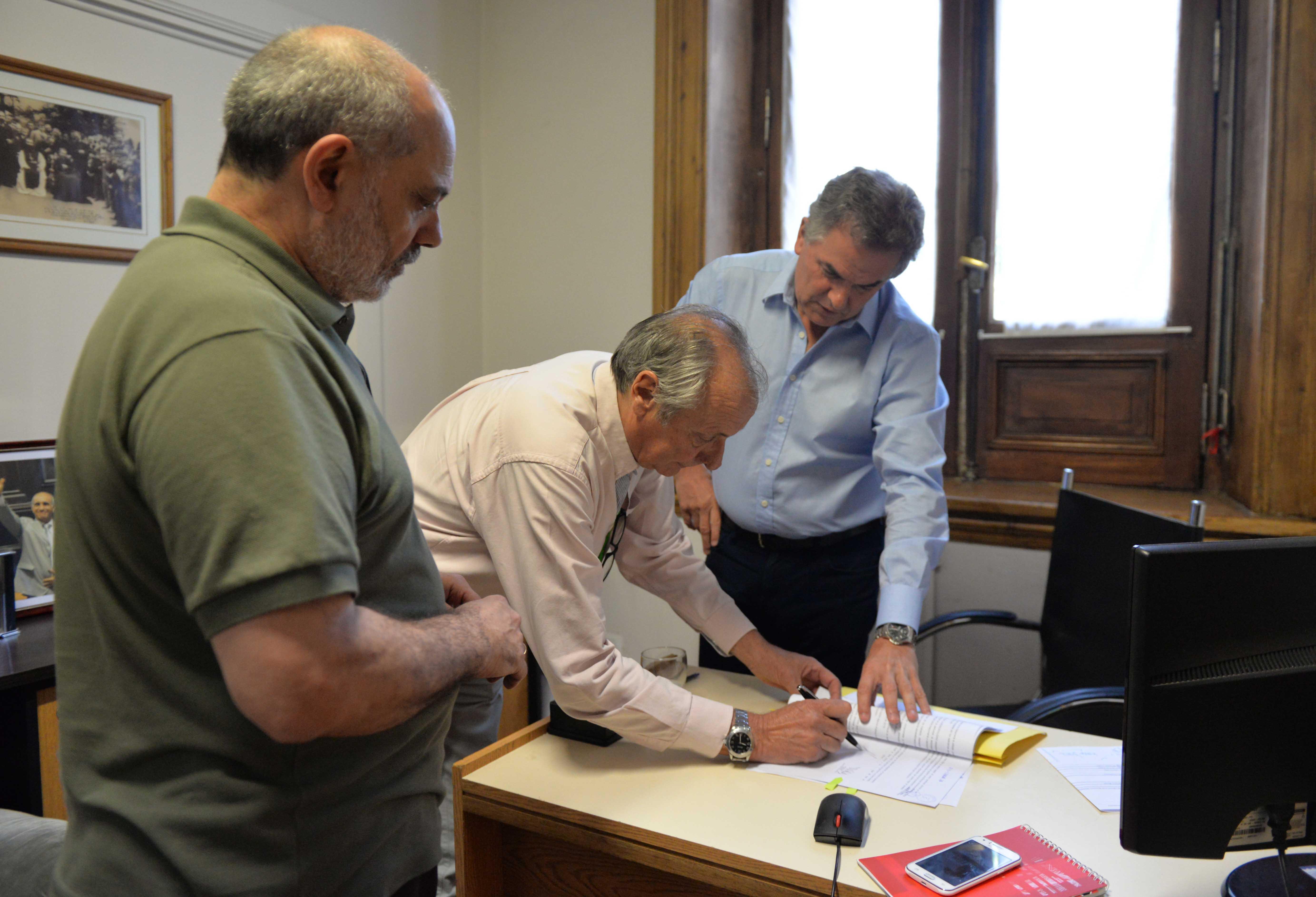 Acuerdo de colaboración entre el municipio y el Club Argentino
