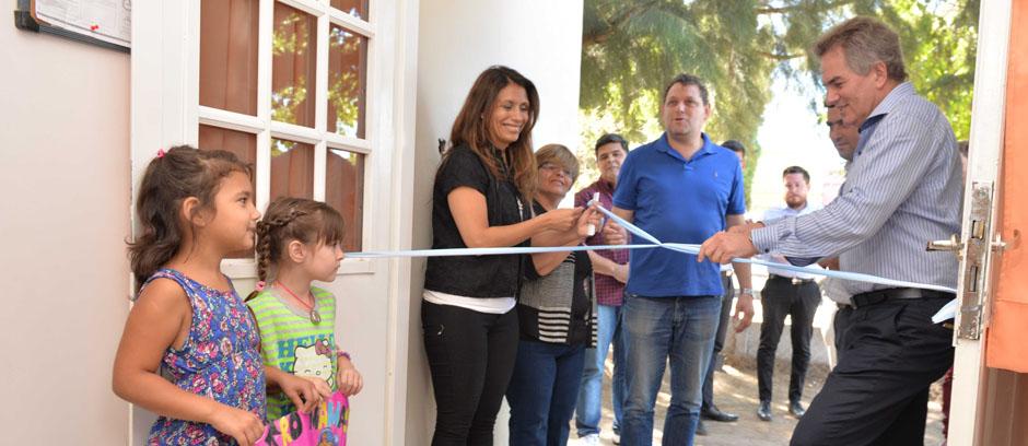 Se inauguró el Centro Mamás Cuidadoras Don Bosco