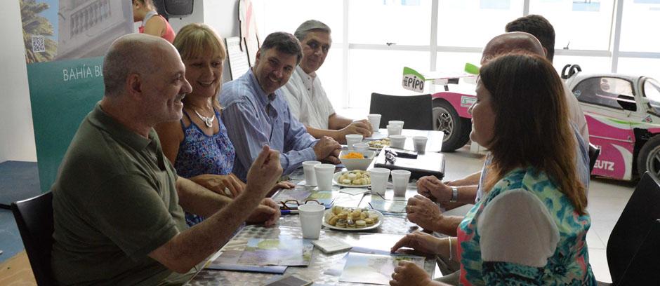 Visitó Bahía Blanca el subsecretario provincial de Turismo, Ignacio Crotto
