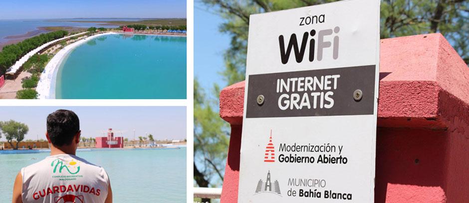 Se amplía el servicio de WiFi gratuito en el Complejo Recreativo Maldonado