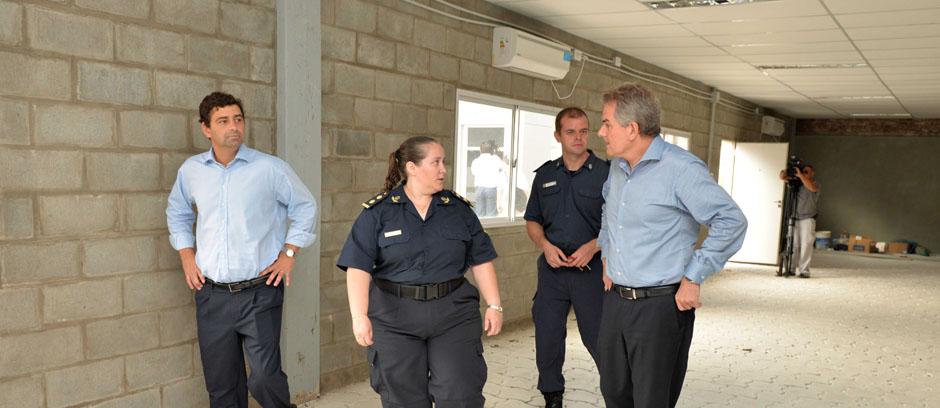 Culminaron las obras en la Escuela de Policía: el 13 de marzo comienza el período de instrucción