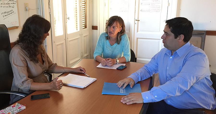 Modernización recibió la visita de representante de la CONABIP
